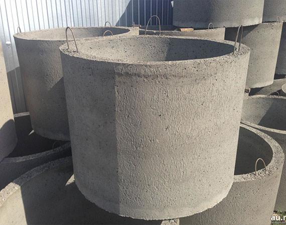 Доставка бетонных колец для колодца