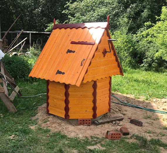 Купить домик для колодца в Волоколамском районе